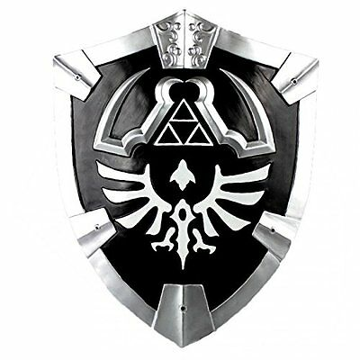 Legend of Zelda Real Steel Dark Master Sword, shield set Link cosplay twilight