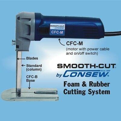 "Consew CFC 12"" Dual Blades Complete Foam & Rubber Cutter 2"