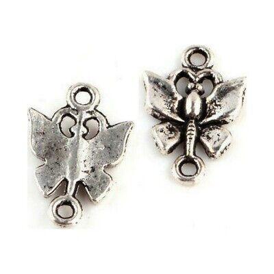25 Connecteurs entre-deux Chandelier 3 rangs 18x10mm Perles apprêts bijoux /_A238