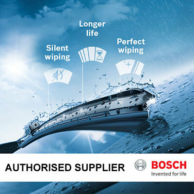 """Bosch AeroTwin Front Wiper Blades 18/"""" Inch and 18/"""" Inch Pair Hook Type"""