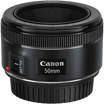 Canon EF 50mm f/1.8 STM Lens For Canon DSLR Cameras - BRAND NEW 6