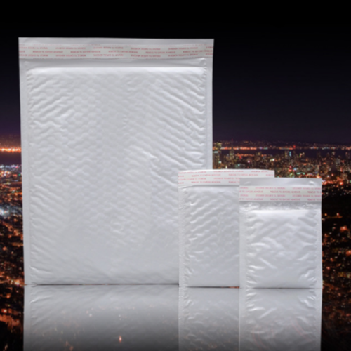 New Chic White Poly Bubble Mailers Padded Envelopes Self Seal Bag Shipping Bags 5