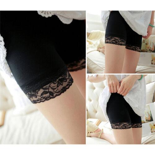 Femmes shorts de sécurité dentelle douce sans soudure leggings pantalon  short Wh 2 2 sur 7 ... 38181150c11