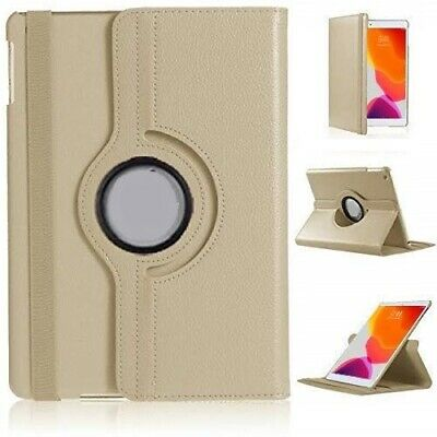 """For Apple iPad 7th Generation 10.2"""" (2019) 360° Rotating PU Leather Case Cover 7"""