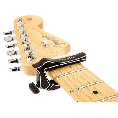 Genuine Fender Dragon Acoustic or Electric 6-String Guitar Capo - BLACK 2