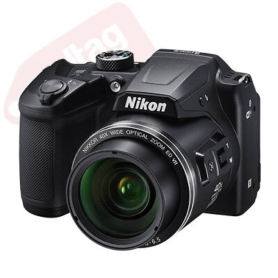 Nikon Coolpix B500 16MP Digital Camera 40x Optical Zoom Black Full-HD + 16GB Kit 2