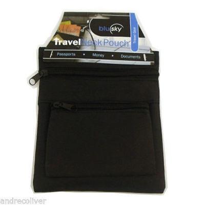 Travel Neck Pouch Secure Passport Card Ticket Money Secret Wallet Holster Bag 2