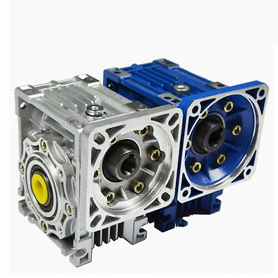 Nema34 Worm Gearbox Geared Speed Reducer 14mm Input Reduction for Stepper Motor 6