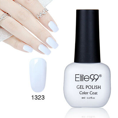 Elite99 Esmalte Semipermanente Brillante de Uñas en Gel UV LED Manicura Soak off 7