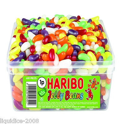1 X Full Tub Haribo Sweets Candy Children's School Bags Treat Sweet Gift Party 8