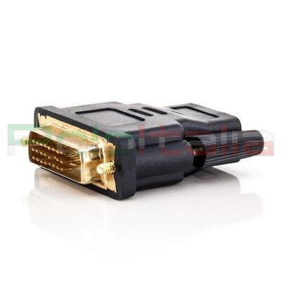 Adattatore da DVI-D dual link 24+1pin maschio a HDMI femmina | convertitore cavo 2