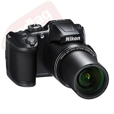 Nikon Coolpix B500 16MP Digital Camera 40x Optical Zoom Black Full-HD + 16GB Kit 4