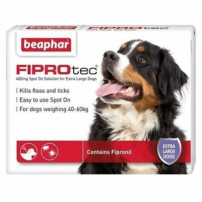 Beaphar FIPROtec Flea Spot On for Small Medium Large XL Dogs&Cats FAST DELIVERY 6