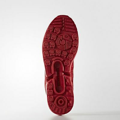 new products 5778e 28f98 ADIDAS ORIGINALS ZX FLUX Triple RED Mens Running Shoes Sneakers S32278 MESH