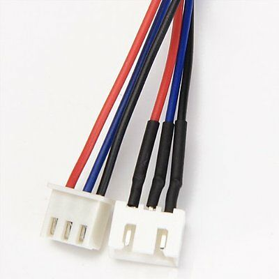 JST-XH Battery Extension Balance Lead Cable 20-30cm LiPo Turnigy Zippy 3