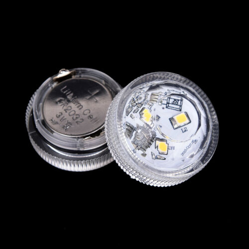 3 led submersible light battery waterproof underwater pool pond lighting FG