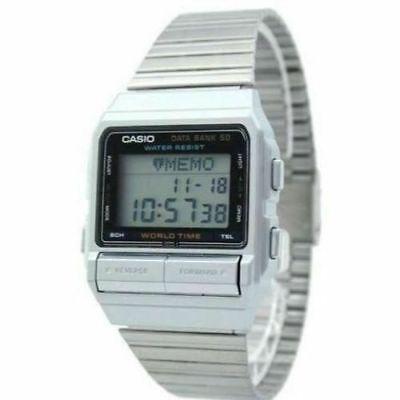 Reloj Nuevo Casio DB-520A-1AV Databank 50 Alarma Hombre 3