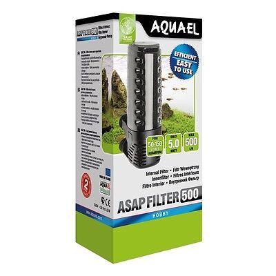Aquarium Innenfilter Aquael ASAP kompl.Serie Schwammfilter Aquarien Filter Pumpe 7