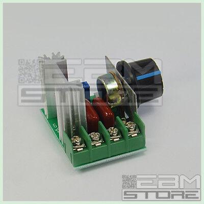 Driver AC 2000W 220V - Dimmer regolatore di velocità giri - ART. CO11 2