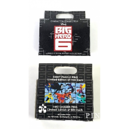 NEW Disney Parks Character Collection Big Hero 6 LE Mystery Pin Collection 2