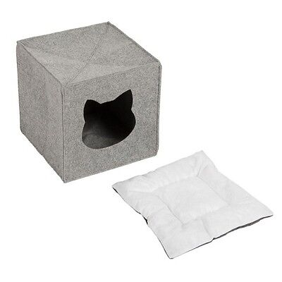 Cat Den For Shelves Privacy Bed Napper Foldable Cube Perfect Hideaway Washable 5