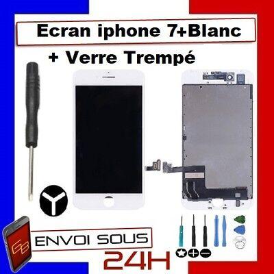 ECRAN LCD VITRE TACTILE NOIR BLANC IPHONE 7 /  7 plus  iphone 8 OU 8 PLUS 6
