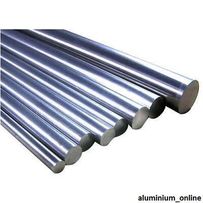 ALUMINIUM ROUND BAR 7//16 lengths 100mm to 2500mm 2.5m 11.11mm