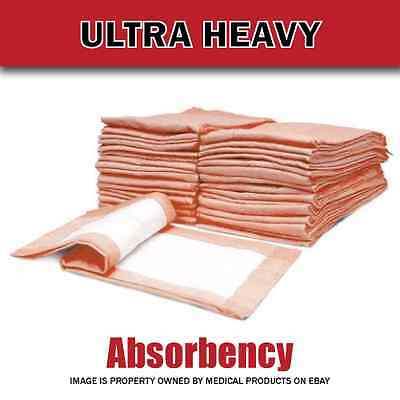 30 X 36 Inch Ultra Heavy Absorbency Underpads for Incontinence Case of 100 NEW 2