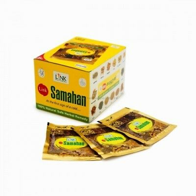 Link SAMAHAN Ayurveda natural REMEDY herbal drink 100- sachets for Cough& Cold 7