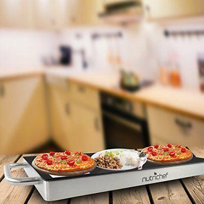 NutriChef Plug-In Food Warming Tray PKWTR45 9