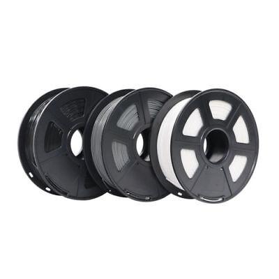 3D Printer PLA Filament 1kg/2.2lb 1.75mm For FDM Imprimante 3D Black White Grey 5
