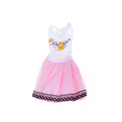 Beautiful Handmade Fashion Clothes Dress For  Doll Cute Lovely Decor S! 5