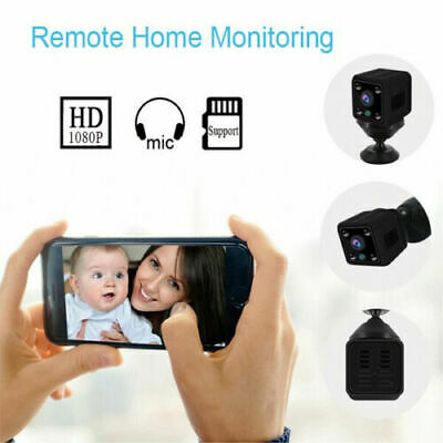 mini telecamera spia remota WiFi microcamera infrarossi notturni cam FULL HD SPY 2