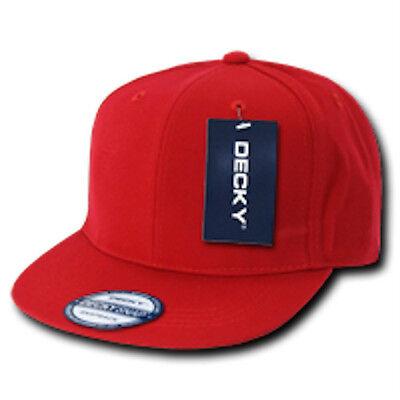 ... 15 LOT Blank Flat Bill Snapback Caps Hats Solid Two Tone DECKY  WHOLESALE BULK 7 7a110c55dfc