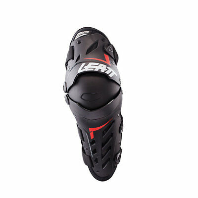 GINOCCHIERE LEATT DUAL AXIS KNEEGUARD NERO Motocross Enduro MTB BMX DH