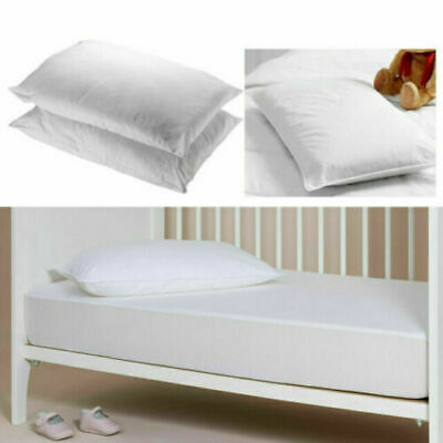 Nursery Baby Toddler Junior New Cot Bed Pillow Anti Allergy Hollowfiber Pillows 2