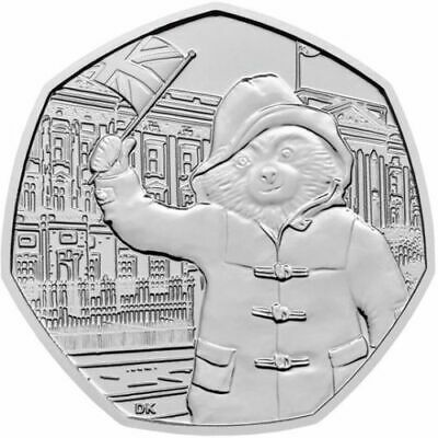 New 2019 Paddington Bear At The Cathedral . Tower . Station . Palace  50P Coin's 8