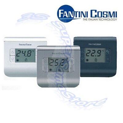 3S Termostato Ambiente Digitale Ch110 Bianco Fantini Cosmi - Temperatura Caldaia 3