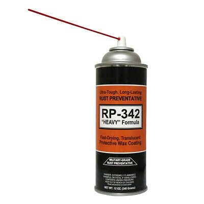 "12-Cans - COSMOLINE MILITARY-GRADE ""Heavy"" Spray Type Rust Preventive RP-342 2"