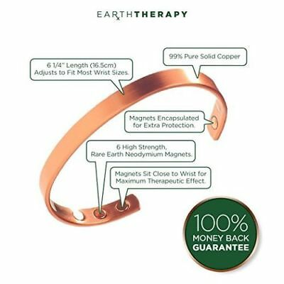 Copper Bracelet Magnetic Healing Bio Therapy Arthritis Pain Relief Bangle Cuff 6