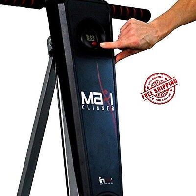 Maxi Climber Vertical Climber w Monitor, Diet Menu, Exercise Manual 3
