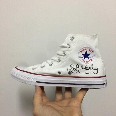 Mano A Classichedipinte Marley Converse PersonalizzateScarpe Bob All Star Di bfyIgY76v