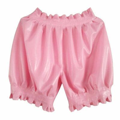 Hot Sale Short Pants 100% Latex Rubber Gummi Shorts Ruffle Lose Hose 0.4mm S-XXL 5