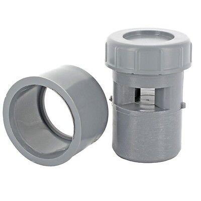 Clapet équilibreur de pression  Aérateur à membrane Anti-odeur 32 / 40 / 50 mm 2
