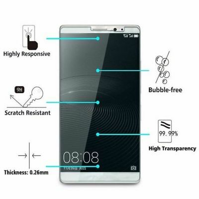 3x For Huawei P10/ P9/ P8 lite P10 Plus P10 LITE Tempered Glass Screen Protector 5