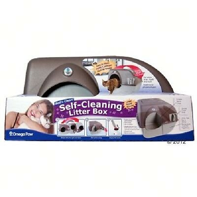 Litter Box Tray Self Cleaning  Regular Roll' n Clean Hygienic Easy Clean Fresh 5