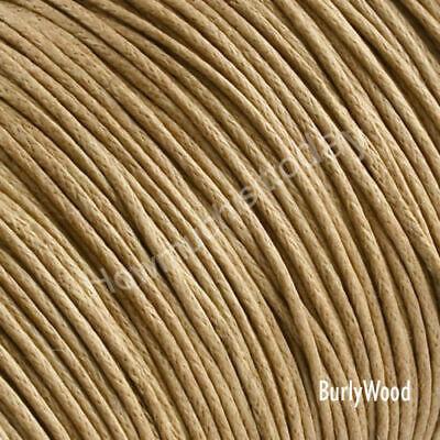 5m x1mm Waxed Cotton Thread Cord Beading Macrame String Bracelet Necklace DIY 5