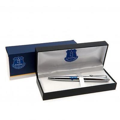 Everton Executive Pen in Gift Box -Chrome Ball Point Pen - Ideal Gift 2