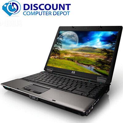 "Hp 14.1"" Laptop Computer Pc Windows 10 Intel Core 2 Duo 4Gb Hd Dvd Wifi 3"