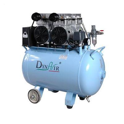 50L Dental Noiseless Oilless Air Compressor Motors 1500W 1-Driving-4 304L/min 2